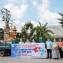 Chùa Thiên Quang hỗ trợ trang thiết bị y tế phòng chống dịch COVID-19 đến các Bệnh viện TP.HCM