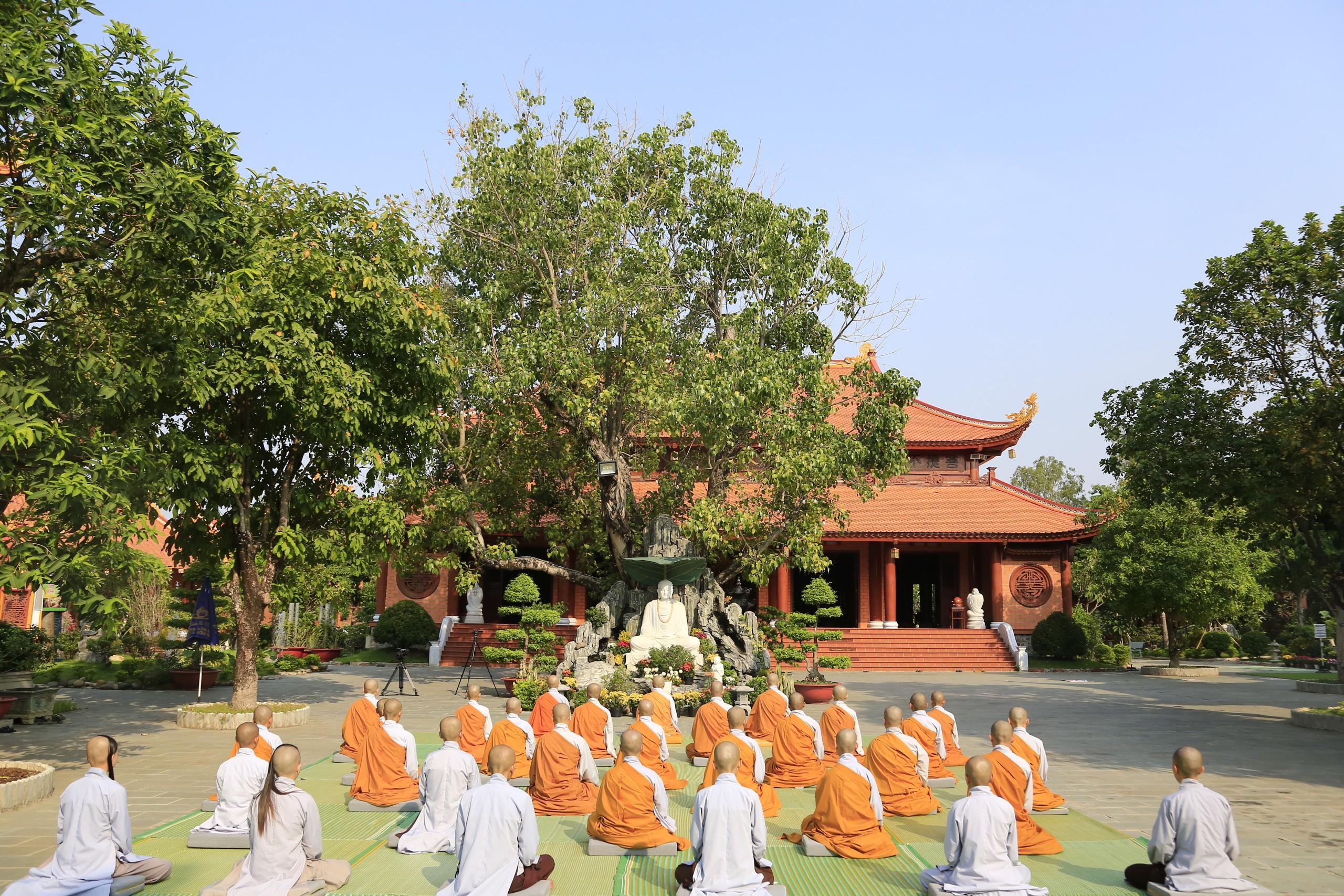 LỄ VU LAN tại Chùa Thiên Quang Rằm tháng 7 âm lịch năm Tân Sửu